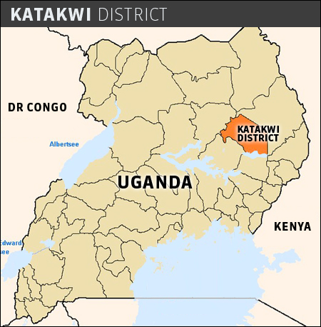 malaria-Katakwi-Map