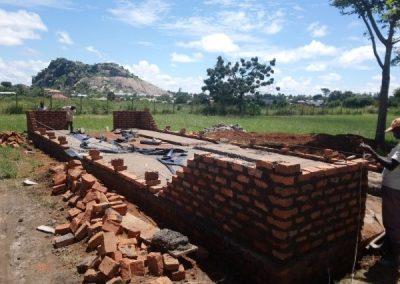 Early bathroom construction
