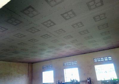 New ceilings